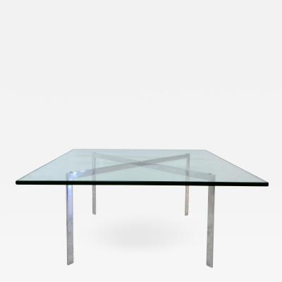 Ludwig Mies Van Der Rohe Mies Van Der Rohe Barcelona Coffee Table by Knoll