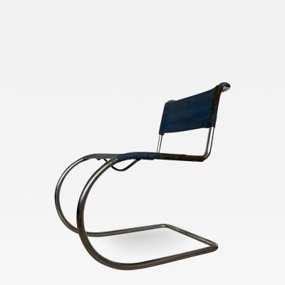 Ludwig Mies Van Der Rohe Rare Chrome Bauhaus Chair Thonet Mr 10 By Ludwig Mies Van Der Rohe 1930s