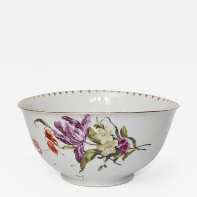 Ludwigsburg Porcelain Manufactory Ludwigsburg Porcelain Bowl Circa 1770