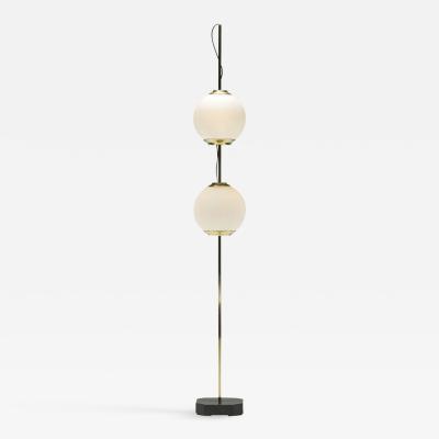 Luigi Caccia Dominioni Luigi Caccia Dominioni floor lamp mod Double Balloon in brass