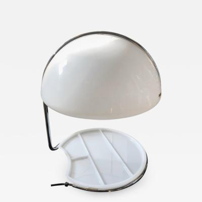 Luigi Massoni Buttura e Massoni for Harvey Guzzini Space Age Conchiglia Table Lamp 1968
