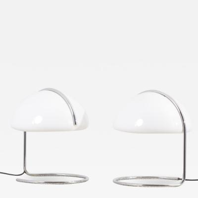 Luigi Massoni Pair of Table Lamps by Luigi Massoni Luciano Buttura for Harvey Guzzini Italy