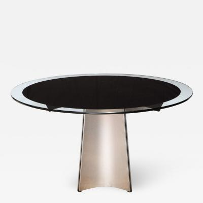 Luigi Saccardo Dining Table by Luigi Saccardo for Maison Jansen France 1970s