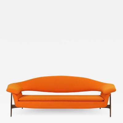 Luigi Tiengo Coolest Mid Century Modern Sofa Ever Designed by Luigi Tiengo