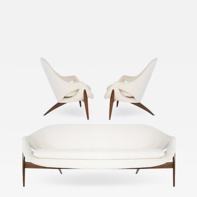 Luigi Tiengo Seating Suite by Luigi Tiengo for Cimon Montr al 1963