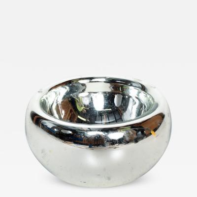Luis Barragan Luis Barragan Large Mercury Glass Silver Bowl Catch All Modern Mexico 1960s