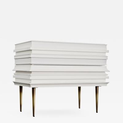 Luis Pons Luis Pons Frame Nightstand White