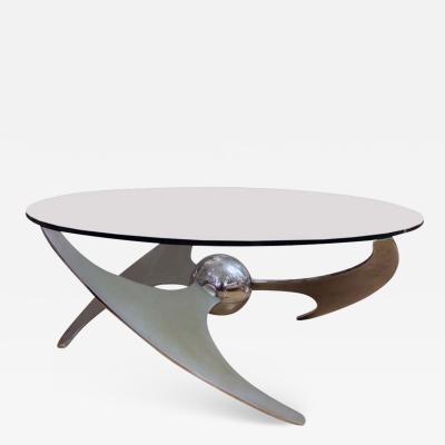 Luisa Campanini PROPELLER TABLE ITALIAN DESIGN BY LUCIANO CAMPANINI