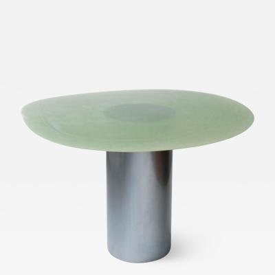 Lukas Cober Volan Glass Dining Table by Lukas Cober