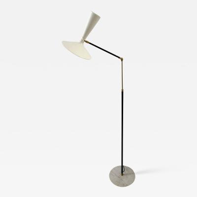 Lumen Milano Italian Double Light Reading Floor Lamp