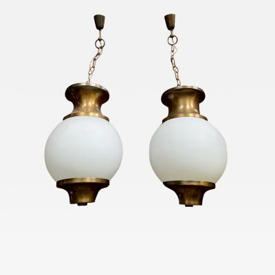 Lumen Milano Pair of Lanterns Pendents