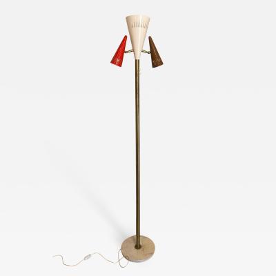 Lumen Milano Unusual late 50s Floor Lamp