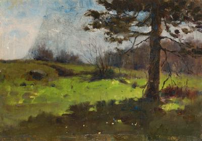 Luther Emerson Van Gorder View from the Shade
