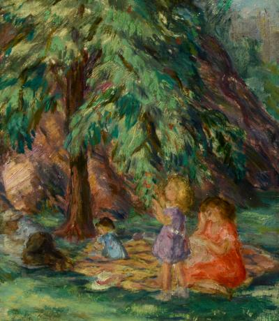 Lydia Freeman Cooley Central Park Picnic