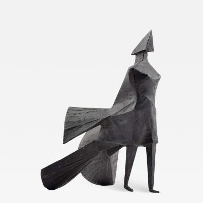 Lynn Chadwick Walking Woman Maquette IV Bronze Sculpture Signed Edition 5 9