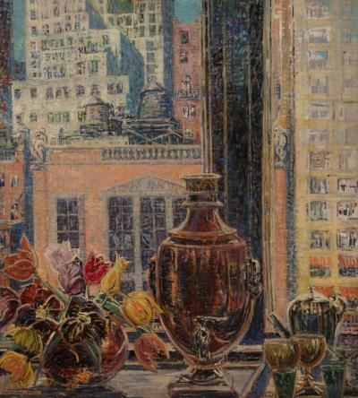 M Mary Elizabeth Price 57th Street Window