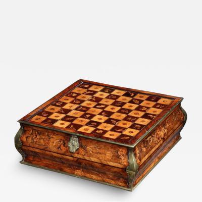 MASTERPIECE GAMING BOX CONTINENTAL CIRCA 1740