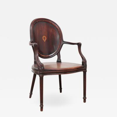 MAYHEW AND INCE PAIR OF CHAIRS ENGLISH CIRCA 1780