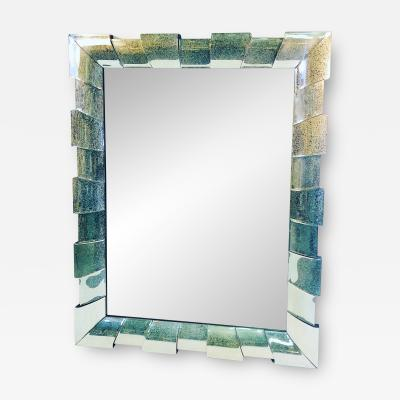 MODERN GRAND SCALE RECTANGULAR MIRROR