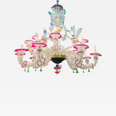 MONUMENTAL ELABORATE MURANO CHANDELIER