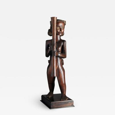 Mabea Mother and Child Sculpture Provenance P Ratton
