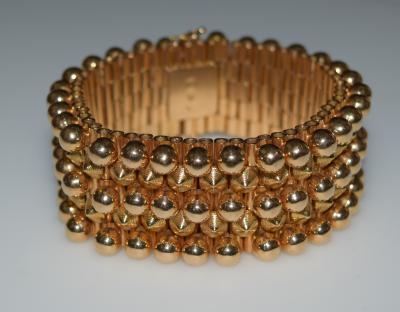 Machine Age 18 K Gold Bracelet