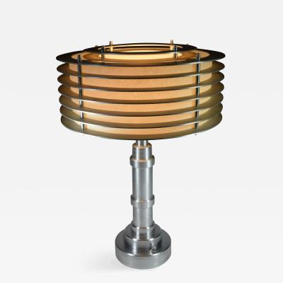 Machine Age Art Deco Pattyn Lamp