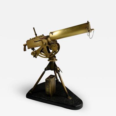 Machine Gun Model Trench Art Style Sculpture