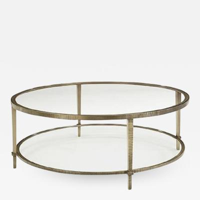 Madeline Stuart Linear Round Coffee Table