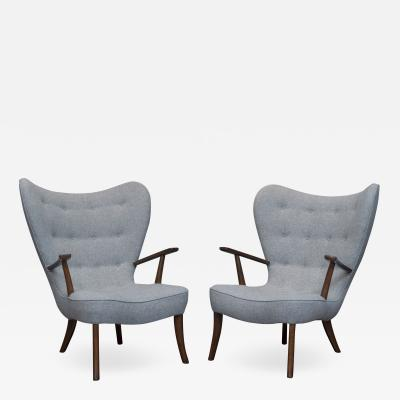 Madsen Sch bel Ib Madsen and Acton Schubell Lounge Chairs