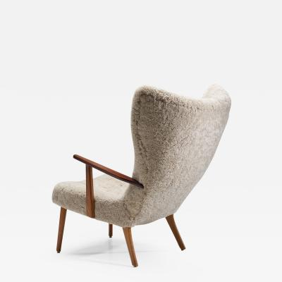 Madsen Sch bel The Prague Chair by Madsen Schubell Denmark 1950s
