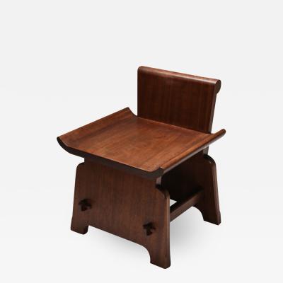 Mahogany Chair Atelier Fran ais 1950s
