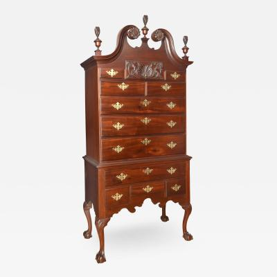 Mahogany Philadelphia Chippendale High Boy