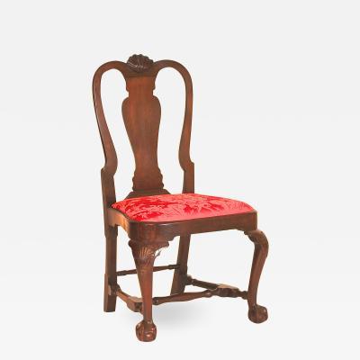 Mahogany Queen Anne Balloon Seat Side Chair