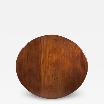 Mahogany drop leaf dining table