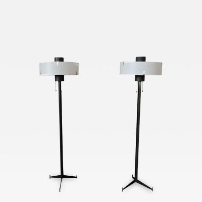 Maison Arlus 2 FINE FRENCH 1960S TELEVISION FLOOR LAMPS BY ARLUS