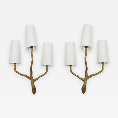 Maison Arlus French Art Decorative wall sconces by Maison Arlus