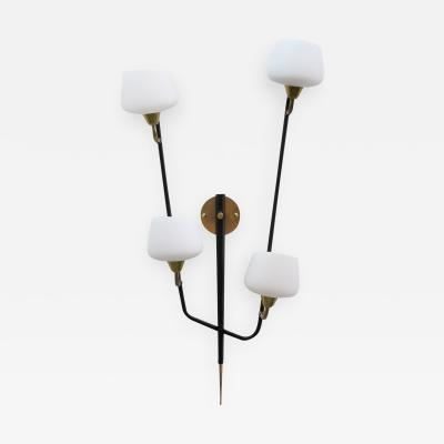 Maison Arlus Large Multiarm Wall Light by Arlus