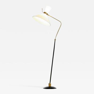 Maison Arlus Maison Arlus France orientable and adjustable floor lamp France 1950