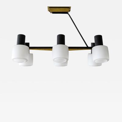 Maison Arlus Six Light Chandelier by Arlus
