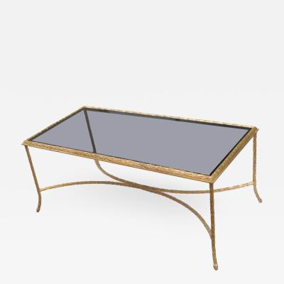 Maison Bagu s Gilt Bronze Coffee Table