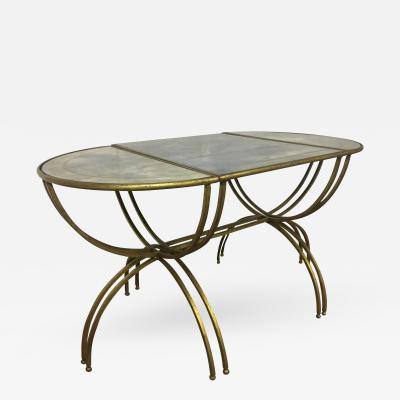 Maison Bagu s Maison Bagues Tri Part Semi Globe Coffee Table