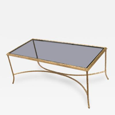 Maison Bagues Gilt Bronze Coffee Table