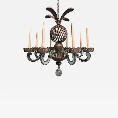 Maison Bagues early rarest 8 light chandelier