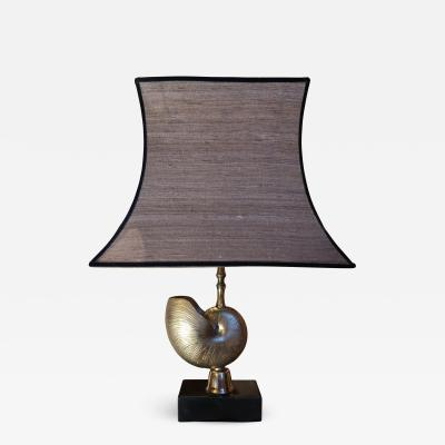 Maison Charles A gilded brass table lamp by maison Charles France 60