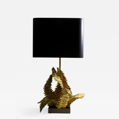 Maison Charles Fern lamp edited by the Maison Charles around 1960