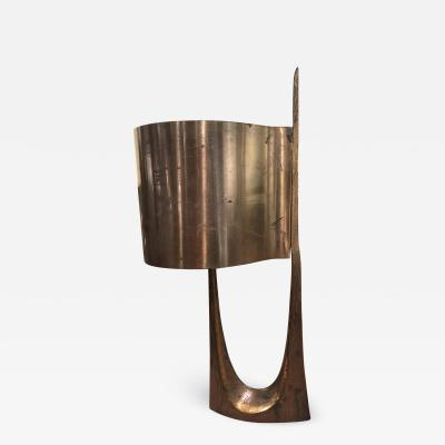 Maison Charles Maison Charles stamped vintage gold bronze lamp