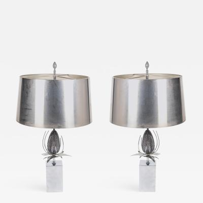 Maison Charles Pair of Chardon table lamps by Maison Charles