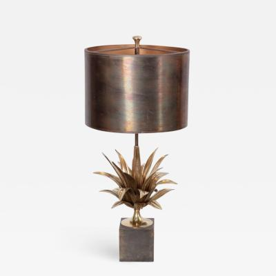Maison Charles Rare Early Signed Maison Charles Agave a Gorge 2390 1 Table Lamp