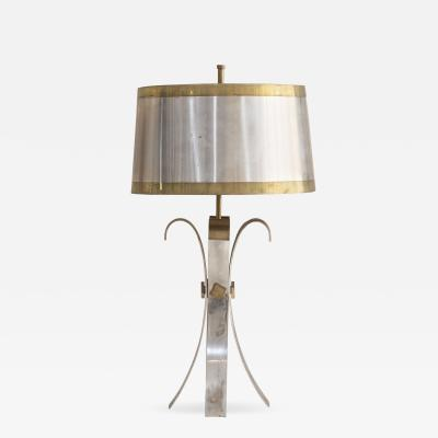 Maison Charles Wonderful table lamp attributed to Maison Charles